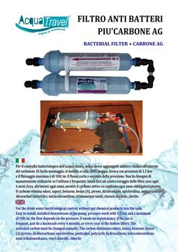 Picture of Bacterial filter + carbon AG System ACQUATRAVEL
