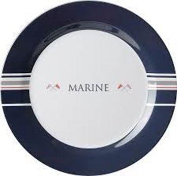 Immagine di Brunner - Serie Marine - Piatto Piano 25 cm