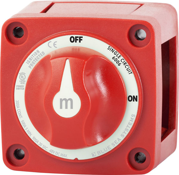 Picture of  Battery Switch with Knob Blue Sea Systems
